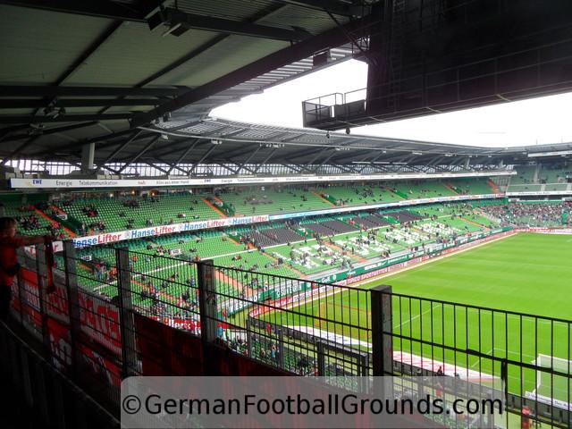 weserstadion werder bremen german football grounds. Black Bedroom Furniture Sets. Home Design Ideas
