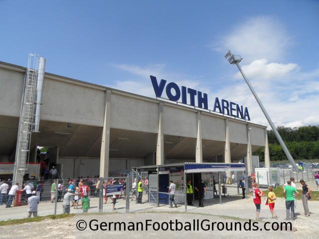 Voith-Arena, 1. FC Heidenheim - German Football Grounds