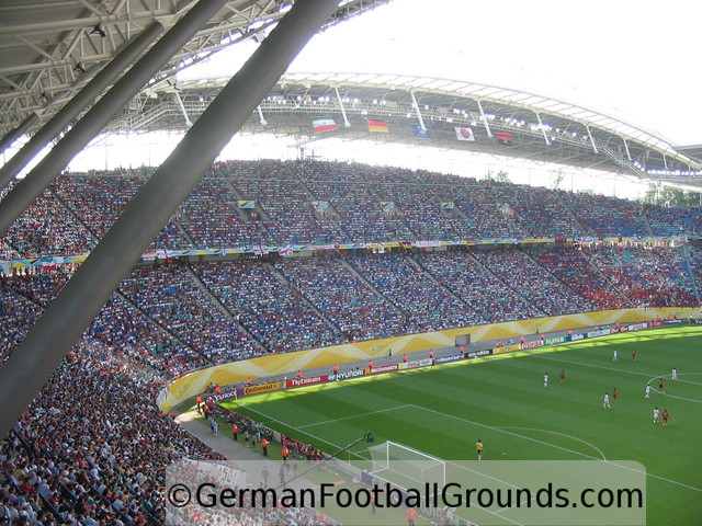 Red Bull Arena Rb Leipzig German Football Grounds