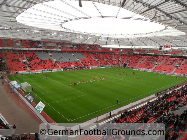 bayarena bayer 04 leverkusen german football grounds. Black Bedroom Furniture Sets. Home Design Ideas
